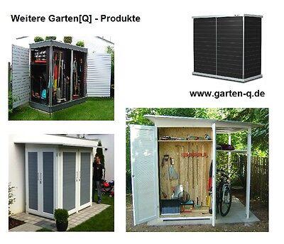Gartenhaus Mini design gartenhaus gartenschrank gerätehaus modern exklusiv metall