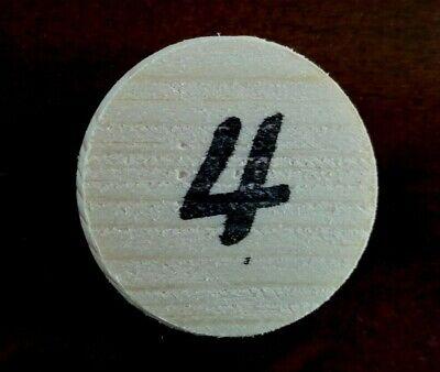 Eselspiel ~ 121 Spielsteine aus Holz ~ Alles Handarbeit Neu 4