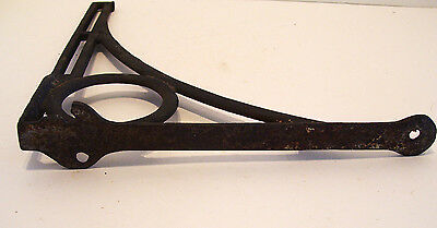 Antique Cast Iron Bracket 12.5 x 11.25 inches AS IS