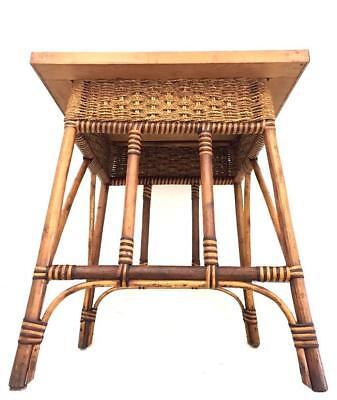 Tavolino In Vimini.Tavolino In Vimini Anni 50 Waimea Vintage Interior Design Modernariato Coffe