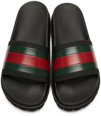 150d866328b07 GUCCI PURSUIT TREK Slides (Men) Size US 6-13 Sandals Flip Flops Slip ...