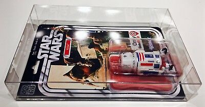 1 Clear Protector For R5-D4 ONLY!  STAR WARS 40TH Anniversary Display Case Box 9