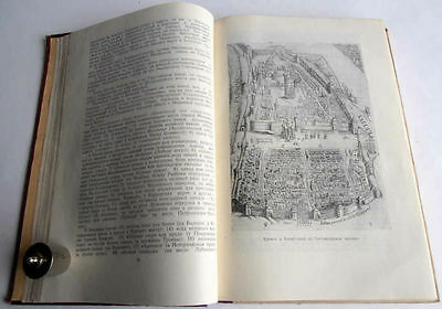 1950/54 P.SYTIN Russia MOSCOW History of Planning & Building Books 2 Volumes 9