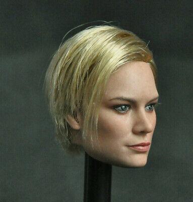 "1//6 female Head A Captain Marvel Brie Larson For 12/"" Figure Phicen hot toys❶USA❶"
