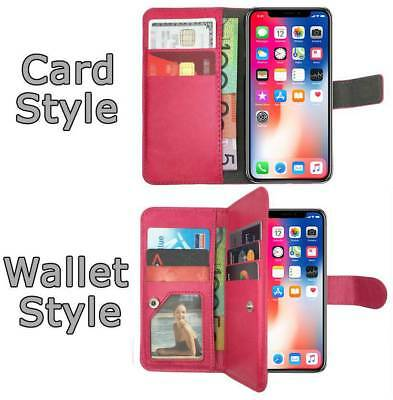 Leather Flip Case Wallet Cover Stand For Apple iPhone 7 6S 6 Plus 5S 5C 5 4 SE 8 8
