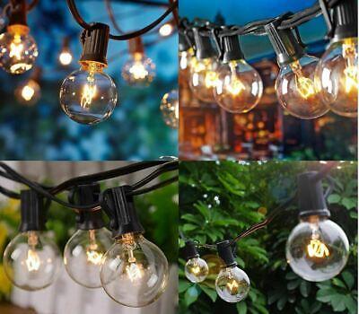 Catena Luminosa Ghirlanda Filo Lampadine Pub Feste Giardino Decorazione Luci 3