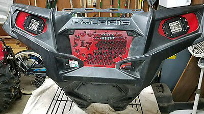 LED Pod Headlight Mount Bracket Kit for Polaris Sportsman 1000 850 570 RZR 800