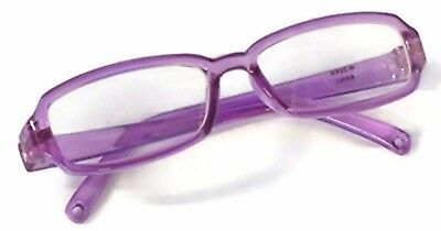 """Purple Rimmed Eye Glasses made for 18"""" American Girl Doll Clothes Accessories 2"""