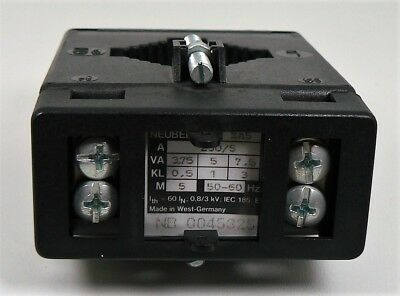 Neuberger Current Transformer ZA5 Current Transformer 3 Piece New 4
