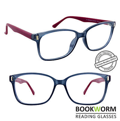 a59934e463a6 ... Large Rimmed Strong Frame Reading Glasses Designer Retro Mens Womens  Ladies 2