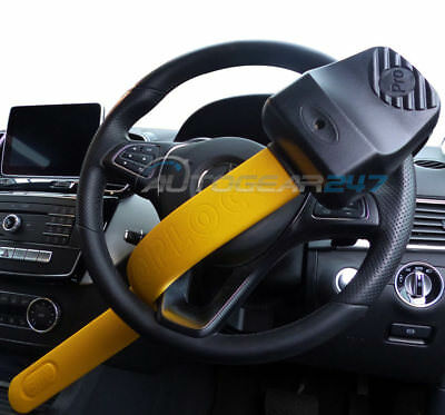 For Mercedes GLS GLE ML 4x4 Stoplock Pro Elite Thatcham Car Steering Wheel Lock 3