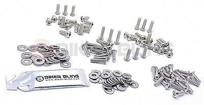 BMW R1200RT K26 2005-2013 stainless steel bottom yoke clamp bolts