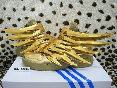 new product 28d35 2554b ... ADIDAS JEREMY SCOTT JS WINGS 3.0 GOLD US 4,5-7,5 floral