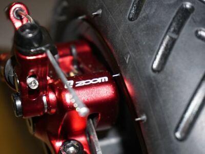 Pinza hidráulica ZOOM XTECH +DISCO 120mm + SOPORTE Aluminio para Xiaomi M365.24H 9