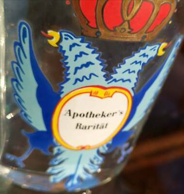 Apotheker - Altes, wunderschönes Apothekerglas - APOTHEKER'S RARITÄT  Seltenheit 8