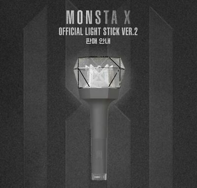 [MONSTA X]-MONSTA X OFFICIAL LIGHT STICK VER.2 Free Shipping+ Tracking In Stock 3