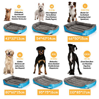 Dog Beds Pet Cushion House Waterproof Soft Warm Kennel Blanket Small-Extra Large 5