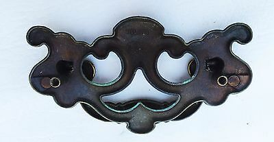 "VintageBrass KBC Antique Hardware Chippendale drawer pull...3 1/2"" centers 9"
