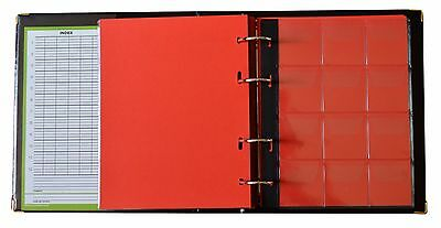 Black Coin Album 300 Coins Mix Sizes Book Folder Big Capacity Pages Collector 7