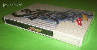 Ant-Man Y La Avispa Blu-Ray 3D + Blu-Ray Nuevo Y Precintado Steelbook Marvel 3