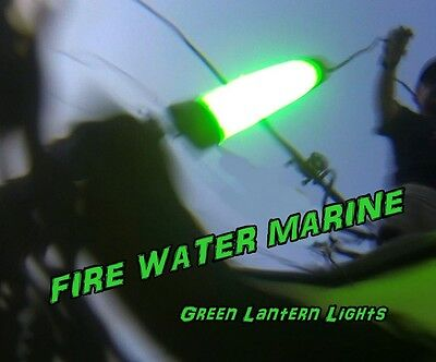 12v maxx led green underwater submersible night fishing light, Reel Combo
