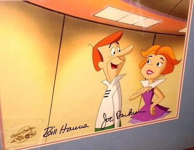 Jetsons Cel Jetsons The Movie Original Production Hanna Barbera Signed cell