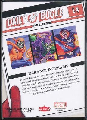 2017 Fleer Ultra Spider-Man Legacy Trading Card #L4 Green Goblin 2