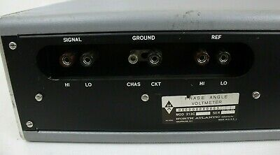 North Atlantic Phase Angle Voltmeter Model 213C, Tested hs 6