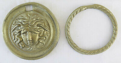 6 Handles for Furniture Antique Bronze a Locket Frieze Accessories CH29 4