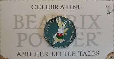 Peter Rabbit 50p Coin 4 Nations England Ireland Scotland Wales Beatrix Potter 3