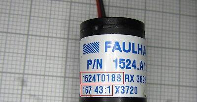 Minimotor, Getriebemotor von Faulhaber Getriebe 1:43 - großer Spannungsbereich
