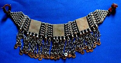 OTTOMAN SILVER Adornment  HEAD NECKLACE , ALL 212 gr Hand crafted chains 2