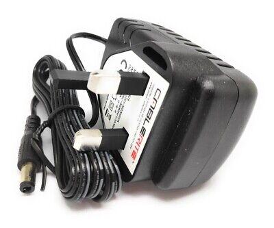 5V TESCO DR1402 wooden dab radio Uk home power supply