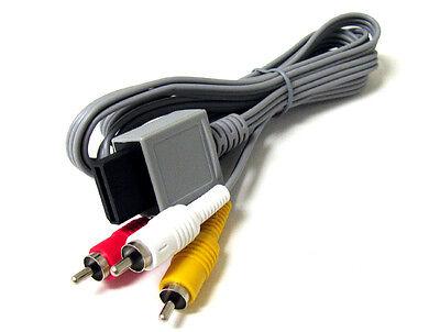 Audio Video AV Composite 3 RCA Cable for Nintendo Wii NEW US SELLER 8