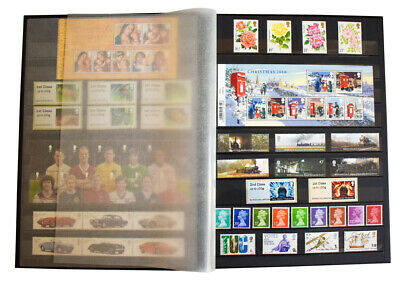 Large A4 Stock book Stamp Album with 60 White or Black Pages 40% OFF From £16.25 3