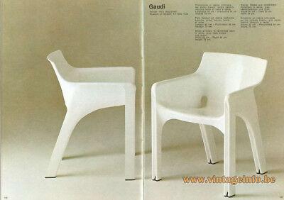 Piedini sedia GAUDI di Artemide disegnata da Vico Magistretti
