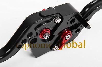 For YAMAHA FZ6 FAZER/S2 2004-2010  Short Black CNC Clutch Brake Levers 2009 2008 3