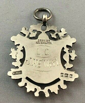 Sterling Silver Award Badge - Scott Elliott Shield 1909 (M#127) 2
