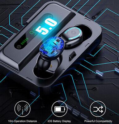 Bluetooth 5.0 Earbuds Wireless Earphones TWS Stereo Deep Bass in-Ear Headphones 10