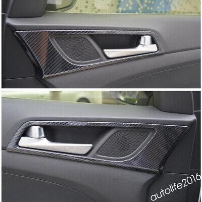 ACCESSORIES INNER DOOR Doorknob Handle Bowl Cover For Hyundai Tucson  2016-2019