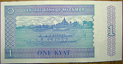 Myanmar//Burma 1972-1997 UNC PaperMoney Banknote 9pc Set