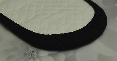 2 x Baby Moses Basket Jersey Fitted Sheet 100% Cotton 30x75cm 8