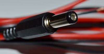 2.1mm DC power cable with write-on marker (LD152)