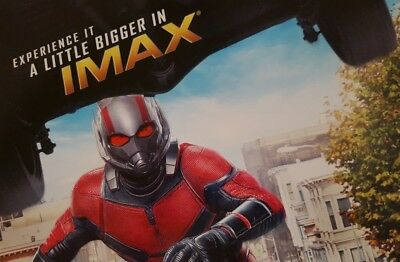 """Marvel Studios ANT-MAN AND THE WASP Official Movie 13"""" x 19""""  IMAX Poster-HTF 2"""