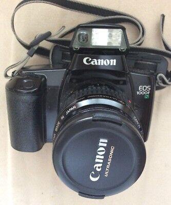 Canon EOS 1000 F 35mm Spiegelreflexkamera mit EF 35-80mm Objektiv Kit