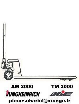 Clapet Soupape De Decompression Bille Transpalette Manuel Mic Tm2000 Tm 2000 2