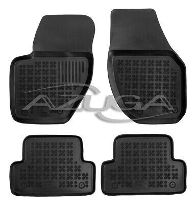 Z331280 SET Kofferraumwanne Gummifußmatten für Volvo V40 2WD Frontantrieb 2 Schr