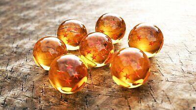 New 7Pcs Stars Dragon Ball Z Crystal Balls Set Collection In Box Set Gifts 2