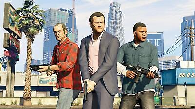 New Grand Theft Auto V 5 Premium Edition (PS4) Sony GTA 5 Rockstar UK PAL Game 4