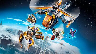 LEGO Super Heroes 76144 Avengers Hulk Helikopter Rettung Black Widow 4